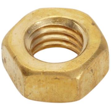 Brass hexagon nuts 3mm 40pc standers