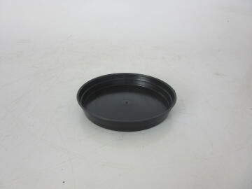 Plastic Drip Tray Black, 18-20cm