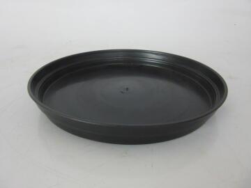 Plastic Drip Tray Black, 35cm