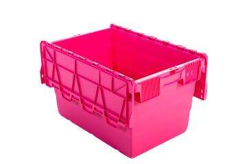 52L Plastic Storage Box Pink