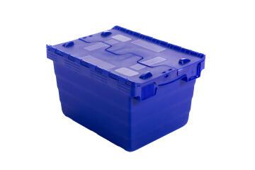 18L Plastic Storage Box Blue