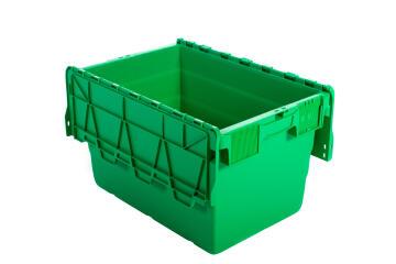 18L Plastic Storage Box Green
