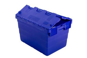 52L Plastic Storage Box Blue