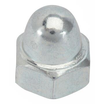 CAP NUT D8 6P GALV STEEL
