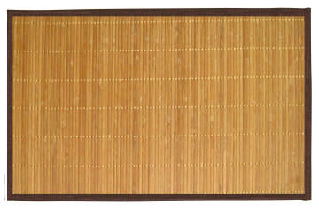 Bamboo Rug 1st PRICE Choco Boarder 160x230cm