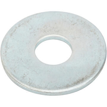 Flat washer wide middle zinc plated D4mm 60pc standers