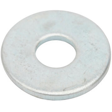 Flat washer wide middle zinc plated D5mm 35pc standers