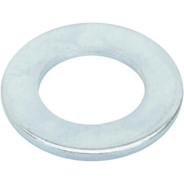 Flat washer narrow middle zinc plated D20mm 4pc standers