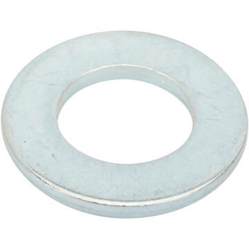 Flat washer narrow middle zinc plated D14mm 10pc standers