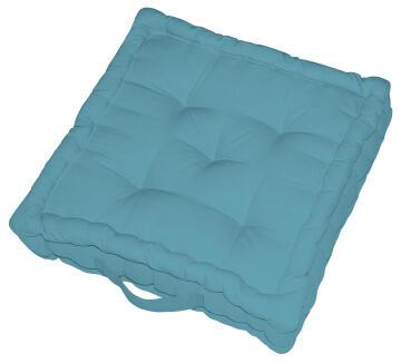 FLOOR CUSH ELEMA 60X60X13CM BLUE