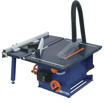Table saw DEXTER POWER 210mm 1300 Watts with extension