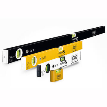 Pack of 4 levels STABILA 7, 40, 60, 100cm special edition
