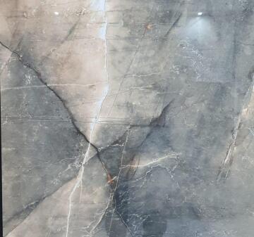 FLOOR TILE PORCELAIN HARMONY GREY POLISHED 60X60CM