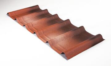 Bitumen Roof Tile Fiorentino 1.06m x 0.4m 7 Pack ONDUVILLA