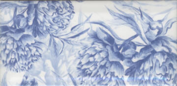 WALL TILE DELFT SUBWAY SPOTTERS 200X100MM