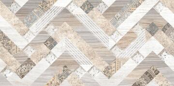 Décor Tile Ceramic Diamond Feature 25x50cm (1pc)