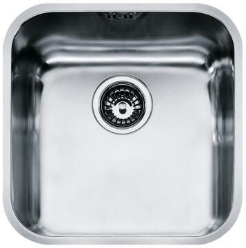 Kitchen sink 1 bowl stainless steel undermount FRANKE STELLA SVX 110-40 428 X 428 X 190mm