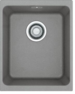 Kitchen sink 1 bowl stone composite undermount FRANKE KGB110-34 grey 367 x 480 x 200mm