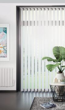 Vertical Blind Panel Kit LVO127 Pocket White 250x260cm