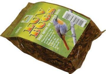 Bird Food, Larvae, ELAINES BIRDING, 100g