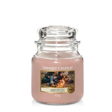Candle Jar Medium Warm And Yankee