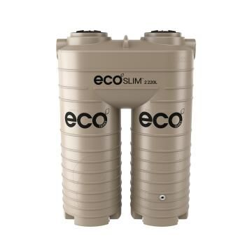 Tank, Water Tank, Beige, ECO TANKS, 2220 liter, Ecoslim