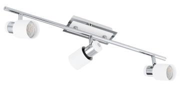 Spot Light Davida 3Lt EUROLUX 625Mm White/Chrome