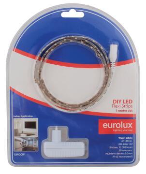 Led Strip Diy Kit 1M 4.8W/M Cw EUROLUX Ip65