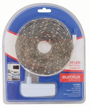 Led Strip Diy Kit 5M 7.2W/M Cw EUROLUX Ip65