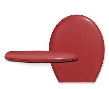 Toilet Seat PP 900gr Standard Shape Rio Red