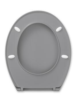 Toilet Seat PP 900gr Standard Shape Rio Grey