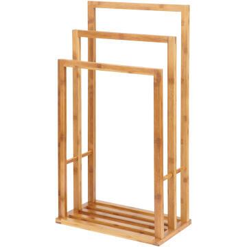 Towel stand bamboo SENSEA Aneko 3b light carbon