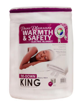 ELECTRIC BLANKET KING NON-FITTED
