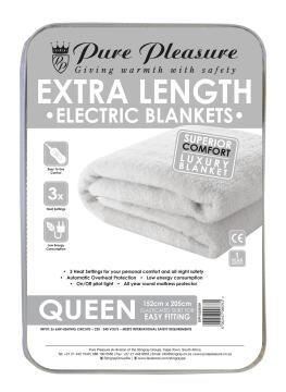 Electric Blanket Fleece Queen XL
