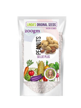 Seed, Peanuts Plus Sier, LINDAS SEEDS, 200g