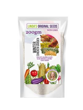 Seed, Winter Chickenier, LINDAS SEEDS, 200g