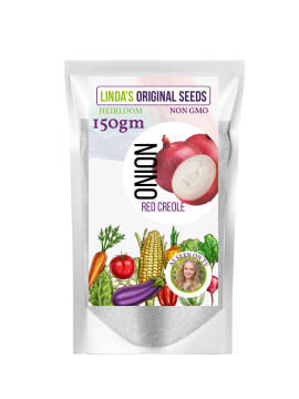 Seed, Onion Red Creoier, LINDAS SEEDS, 150g