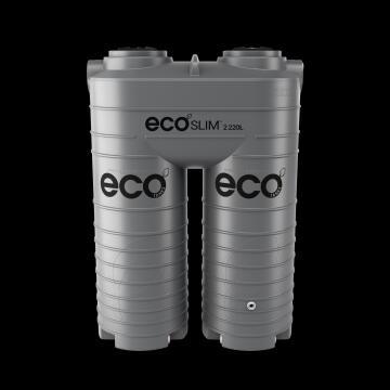 Tank, Water Tank, Dark Grey, ECO TANKS, 2220 liter, Ecoslim