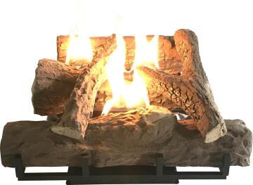 LOG Fireplace Gas Heater ALVA 7kg