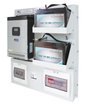 SOLAR SYS 230V 5KVA 4.8KW BACKUP SYSTEM