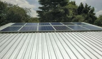 MOUNTING KIT 3PV PANEL IBR ROOF 72 CELL