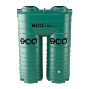 Tank, Water Tank, Green, ECO TANKS, 2220 liter, Ecoslim