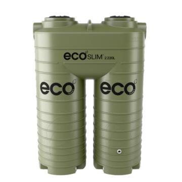 Tank, Water Tank, Olive, ECO TANKS, 2220 liter, Ecoslim
