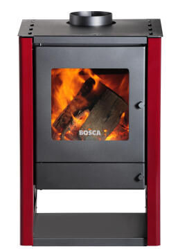 Fireplace BOSCA Gold Burgundy 380
