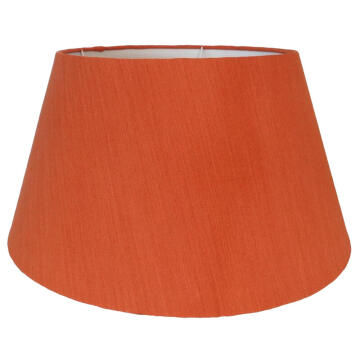 Lampshade Tapered Drum Orange 55Cm