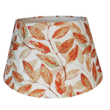 Lampshade Tapered Drum Autumn Leave 53Cm