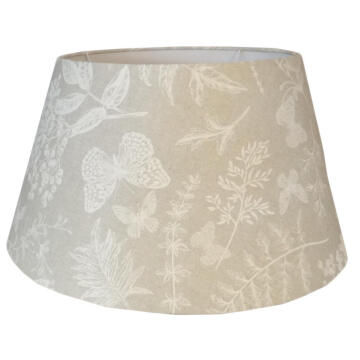 Lampshade Tapered Drum Butterflies 53Cm