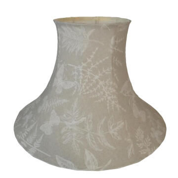 Lampshade Empire Cream Butterflies 55Cm