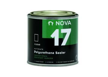 Interior Wood Varnish NOVA 17 Polyurethane Sealer gloss 500ml