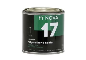 Interior Wood Varnish NOVA 17 Polyurethane Sealer matt 500ml